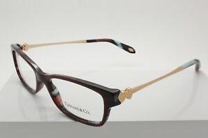 26e4c18979ae Tiffany   Co. TF 2140 8207 Purple Blue Copper Havana Eyeglasses 51 ...