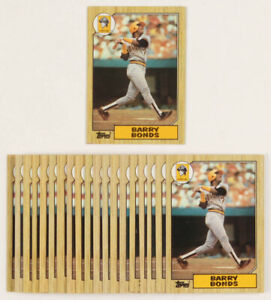 1987-Topps-320-Barry-Bonds-Rookie-RC-EX-EXMINT-Pittsburgh-Pirates-FREE-SHIPPING