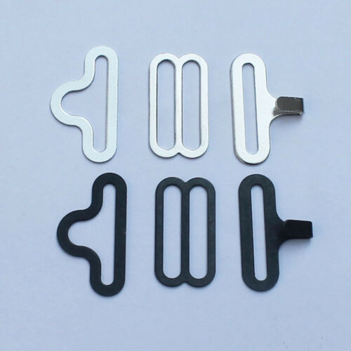 """50 Sets ¾/"""" Bow Tie Hardware Bow tie and Cravat Clips Fasteners for Neckties"""