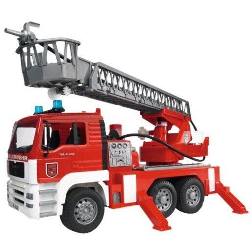Bruder 02771 Feuerwehrauto mit Leiter   8057