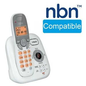 Details about NBN Compatible Cordless Phone Answering Handset Dect Digital  WiFi Friendly Home