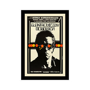 Details about THE TERMINATOR - 11x17 Framed Movie Poster by Wallspace