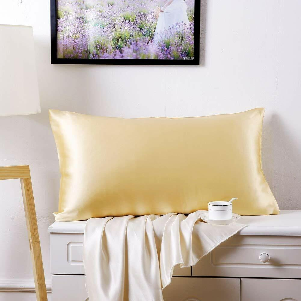 20x26 Both Side 19 Momme Silk , Lavender SLPBABY 100/% Natural Pure Silk Pillowcase for Hair and Skin Luxury Smooth Satin Pillowcase Cover with Hidden Zipper Standard