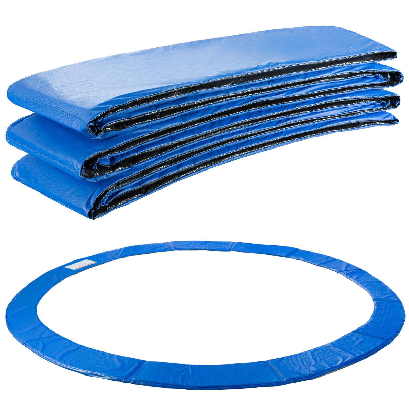 Arebos Almohadillas de seguridad Cojín Trampolín 457cm azul