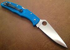 Spyderco Blue Endura 4 VG-10 Blade FRN Handles Lockback Made Japan SC10FPBL