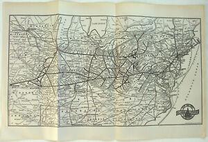 Original-1939-Baltimore-amp-Ohio-Railroad-System-Map-Vintage