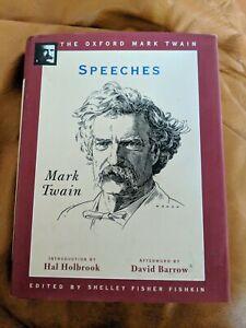 Mark Twain SPEECHES 1st Edition Thus 1st Printing