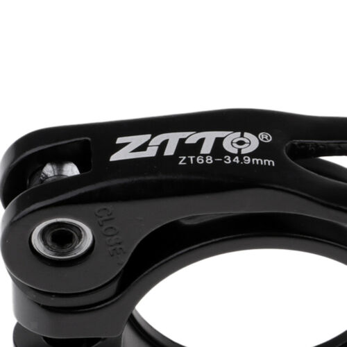 Universal Cycling Bike Sattelstütze Rohr Clip Locking Clamps