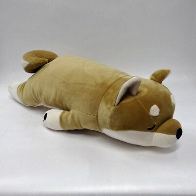 Marshmallow-Soft Body Pillow Shiba