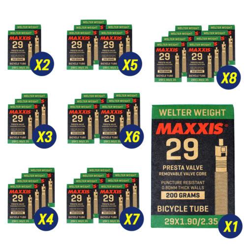 Maxxis Welter Weight 29 x 1.90-2.35  Bike Inner Tube Presta FV