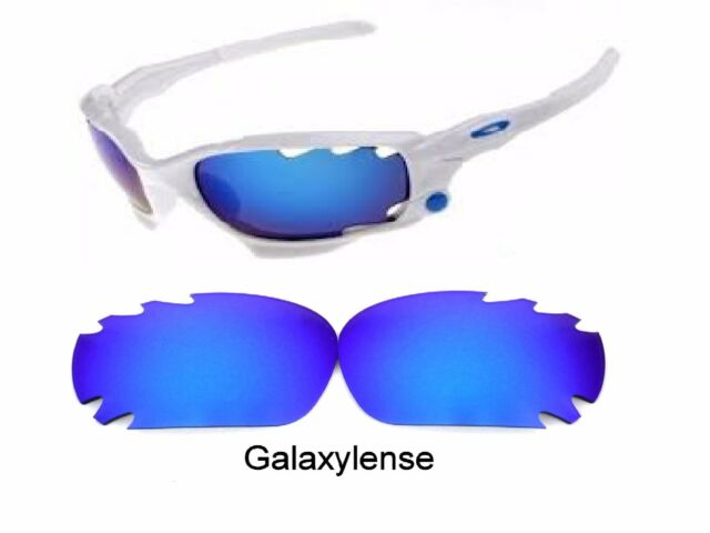 8064681f377 Galaxy Replacement Lenses for Oakley Racing Jacket Blue Polarized 100%UVA VB
