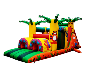 30x10x12 Commercial Inflatable Obstacle Course Water Slide ...