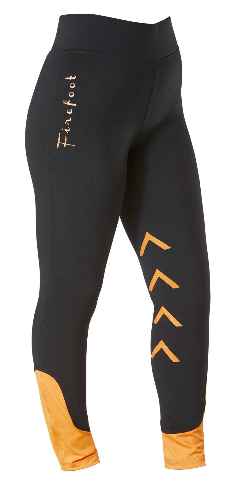 FireFoot Fleece Lined Ripon Ladies Horse Riding Silicone Stretch Legging Breech