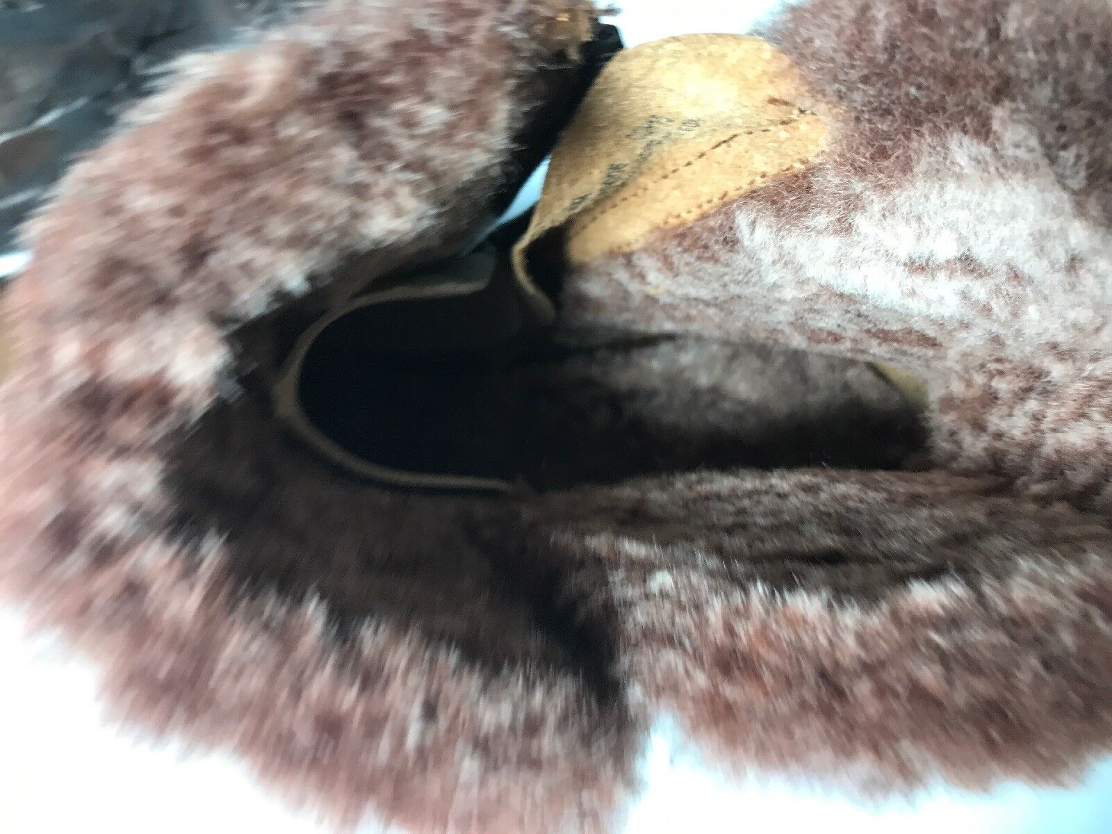 New Born Kaia Shearling Lamb Lamb Lamb Lined Summer marron Leather Warm démarrageies D49006  250 0a5e03