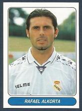 PANINI EUROPEAN FOOTBALL STARS 1997- #017-REAL MADRID & SPAIN-RAFAEL ALKORTA