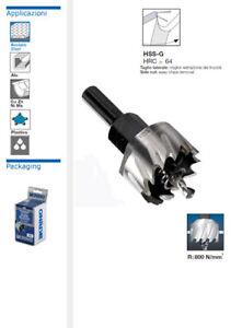 FRESA A TAZZA IN ACCIAIO HSS-G per metallo duro inox acciaio