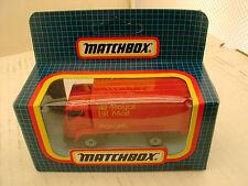1987 MATCHBOX SUPERFAST MB72 DODGE COMMANDO DELIVERY VAN ROYAL MAIL PARCALS MIB