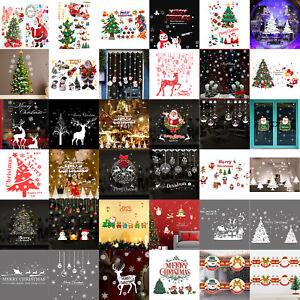 Weihnachten Fenstersticker Fensterbild Sticker Wandtattoo