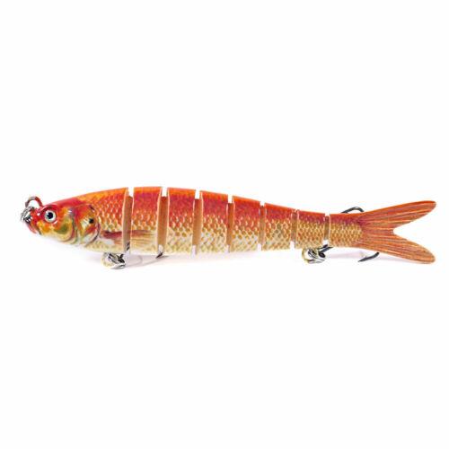 1pc Multi Jointed Fishing Lures Swimbait Sinking Wobblers Hard Bait Crankbait