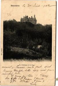 CPA AK SANCERRE Le Chateau et le Parc (612776)