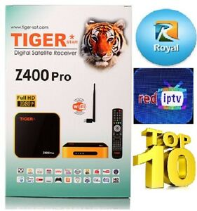 Details about Tiger IPTV Z400Pro with Free RED IPTV 12 months + Free 12  Months ROYAL IPTV