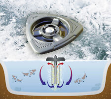 Teicheizer Edelstahl verbessertes Modell 1//2//3 KW Teichheizung Aquaforte Eisfrei