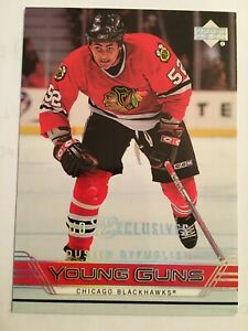 Dustin-Byfuglien-Young-Guns-Exclusives-RC-Rookie-2006-07-Upper-Deck-7-100