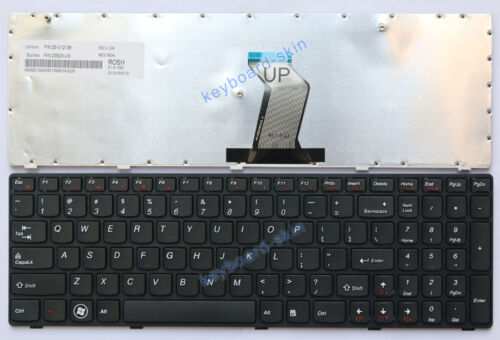 New for IBM Lenovo IdeaPad G580 G580A G585 laptop Keyboard 25208114 V1170202PS2