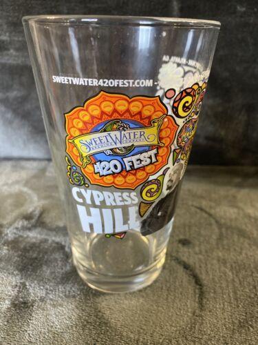 Cypress Hill 16 Oz Pint Glass Sweetwater Brewing Co 420 Pot Fest