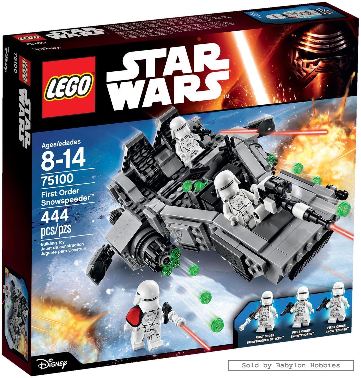 Lego Star Wars - First Order Snowspeeder (door Lego) 75100