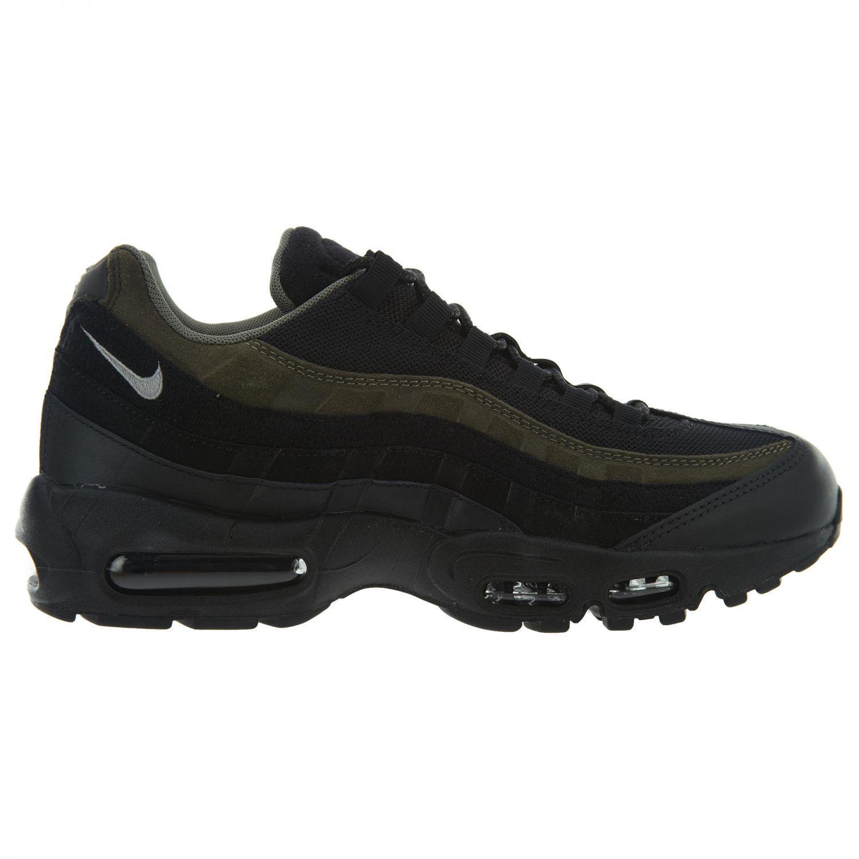 Nike Air Max 95 HAL Mens AH8444-001 Black Cargo Khaki Running Shoes Size 7.5
