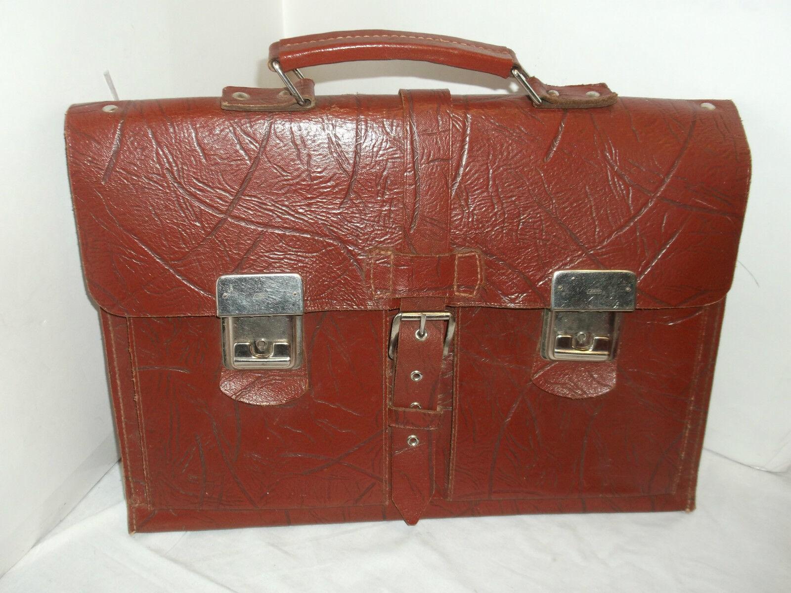 Alte Aktentasche Ranzen Ledertasche Schultasche Tasche mit Schlüssel Vintage | ein guter Ruf in der Welt  | Offizielle Webseite  | Smart