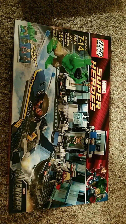 LEGO 6868 HULK'S HELIautoRIER BREAKOUT nuovo IN scatola