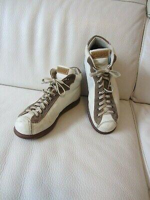 Lässige Camper Sneaker Boots Leder creme weiß ecru braun Gr. 38 | eBay