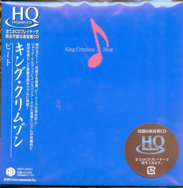 KING CRIMSON-BEAT-JAPAN MINI LP HQCD G09