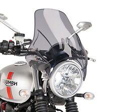 Windschutz-Scheibe Puig LS für Suzuki GS 500/ E Cockpit-Scheibe rauchgrau