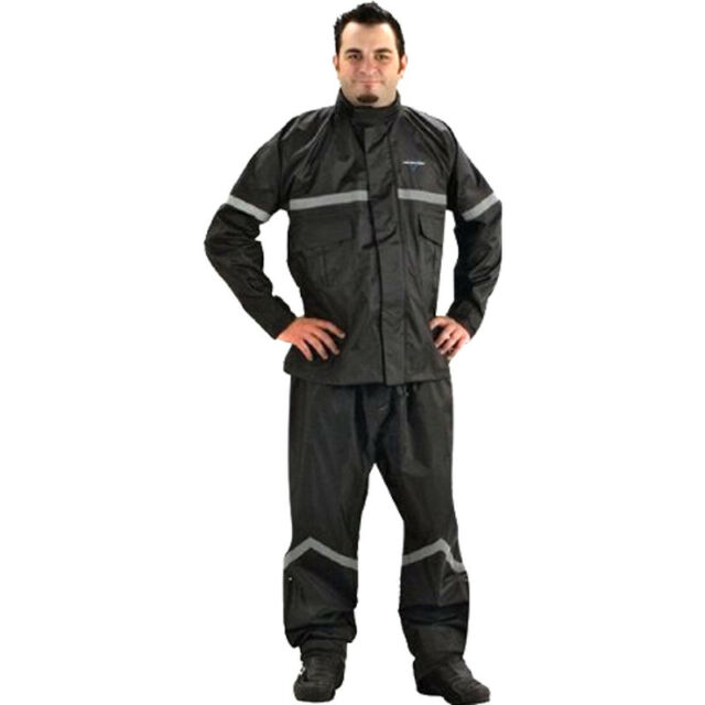 Nelson-Rigg SR-6000 Stormrider Rainsuit Black Medium SR-6000-BLK-02M 2851-0182