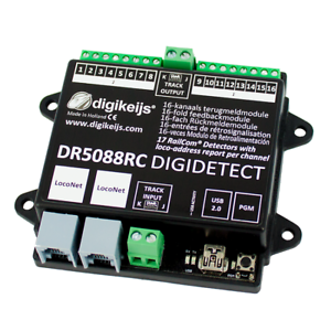Digikeijs-DR5088RC-16-Channel-RailCom-LocoNet-Occupancy-Feedback-Detector