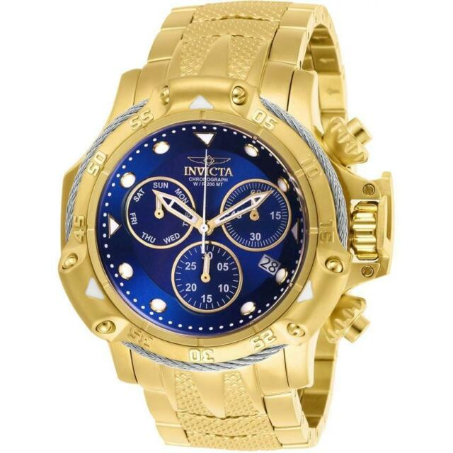 0404d29e4 Invicta Subaqua 26726 Men's Gold Stainless Steel Swiss Chronograph Watch Z60