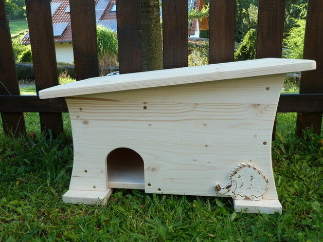Igelhaus,  Igelhütte mit Rattenklappe besonderes Design aus Holz Holzarbeit NEU | Niedrige Kosten  | Niedriger Preis  | Heißer Verkauf
