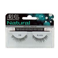 4 Pairs Of Ardell Eyelashes / Black False Eyelashes - Style 110 (lot Of 4)