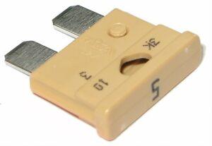 Lot-de-10-5A-Standard-fusibles-d-039-AUTOMOBILE-qualite-produits-PLAT-VOITURE-ATO