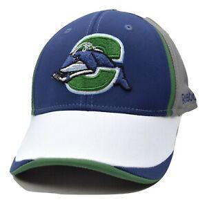 Connecticut-Whale-Reebok-TZT80-AHL-Pro-Shape-Flex-Fit-Hockey-Cap-Hat-L-XL