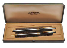 Aurora Marco Polo set stilo e sfera acciaio brunito, nuove in box