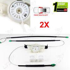 2X VW Beetle Kit Riparazione Regolatore Finestrino Anteriore Sinistro E Destro