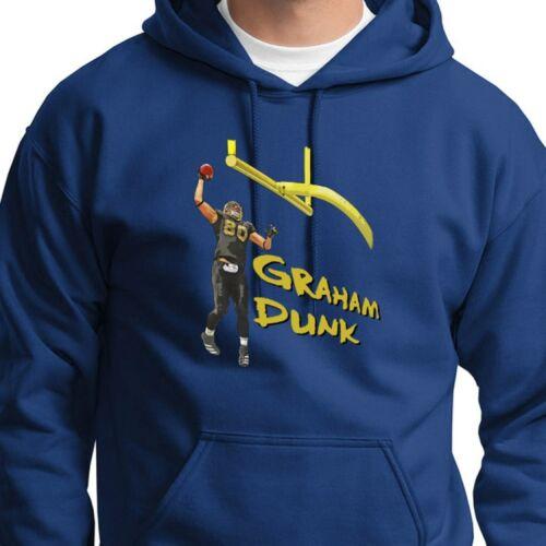 Jimmy GRAHAM DUNK T-shirt jersey New Orleans Saints #80 Hoodie Sweatshirt