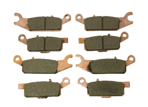 Front /& Rear Severe Duty Brake Pads Yamaha Grizzly 700 4x4 /& Grizzly 550 4x4