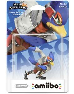 Amiibo NEUF Falco N°52 (Série Super Smash Bros)