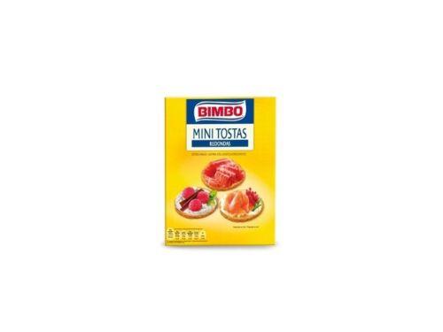 Bimbo Mini-Tostas Redondas 100g
