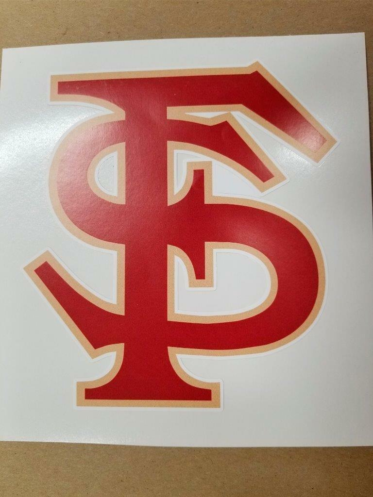 FSU cornhole board or  vehicle decal(s)  online at best price